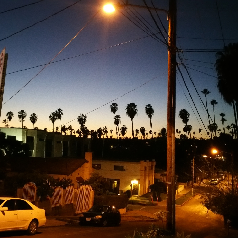 Echo Park, LA as the sunsets in January_Bsingh_2017